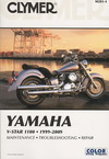 Clymer Yamaha V-Star 1100 1999-2009 - James Grooms (Paperback)