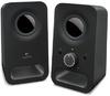 Logitech Z150 2.0 Channel 3W Portable Speakers - Black