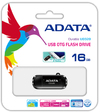 ADATA UD320 16GB USB 2.0 OTG Flash Drive - Black