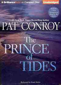 The Prince of Tides - Pat Conroy (CD/Spoken Word) - Cover