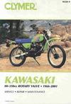 Kawasaki 80-350Cc Rotary Valve, 1966-2001 - Clymer Publications (Paperback)