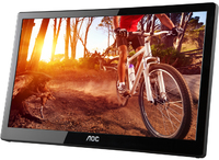 AOC 15.6 Inch USB-Powered Portable LCD Monitor - Cover