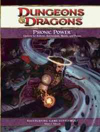 Dungeons & Dragons Psionic Power - Robert J. Schwalb (Hardcover) - Cover