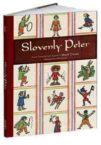 Slovenly Peter - Mark Twain (Hardcover) - Cover