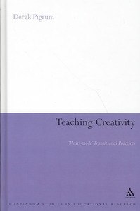 Teaching Creativity - Derek Pigrum (Hardcover) - Cover