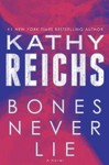 Bones Never Lie - Kathy Reichs (Hardcover) Cover