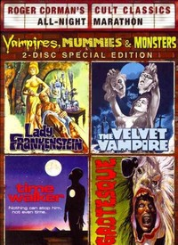 Vampires Mummies & Monsters Collection (Region 1 DVD) - Cover