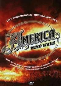America - Wind Wave: Musikladen 1975 (Region 1 DVD) - Cover