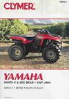 Yamaha Moto-4 & Big Bear 1987-2004 - Primedia Business Directories & Books (Paperback)