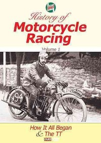 Castrol Motorcycle History: Volume 1 (DVD) - Cover