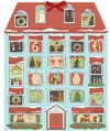 Forest Friends Christmas House Calendar - Quill & Fox Design (Calendar)