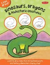 Dinosaurs, Dragons & Prehistoric Creatures - Jr. Walter Foster Creative Team (Paperback)