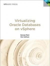 Virtualizing Oracle Databases on vSphere - Kannan Mani (Paperback) - Cover