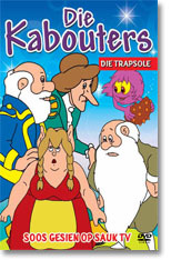 Die Kabouters - Die Trapsole (DVD) - Cover