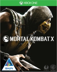 Mortal Kombat X (Xbox One) - Cover