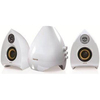 Krator Neso 4 35W 2.1 Channel Speakers - Piano White