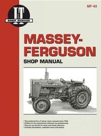 Massey-Ferguson Shop Manual (Paperback) - Cover
