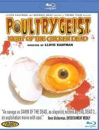 Poultrygeist: Night of the Chicken Dead (Region A Blu-ray) - Cover