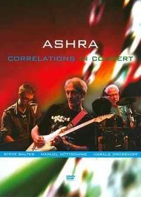 Ashra - Correlations In Concert (Region 1 DVD) - Cover