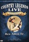 Rex Sr. Allen - Country Legends Live Mini Concert:Rex (Region 1 DVD)