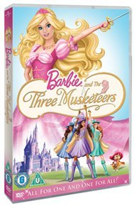 Barbie and the Three Musketeers (DVD) - Cover