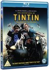 Adventures of Tintin: The Secret of the Unicorn (Blu-ray) Cover