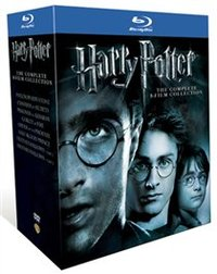 Harry Potter: The Complete 8 Film Collection (Blu-ray) - Cover