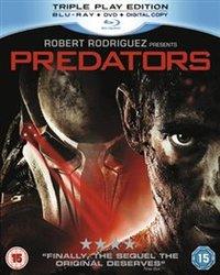 Predators (Blu-ray) - Cover