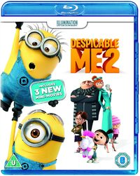 Despicable Me 2 (Blu-ray) - Cover