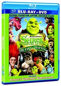 Shrek: Forever After - The Final Chapter (Blu-ray) - Cover