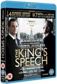 King's Speech (Blu-ray) - Cover