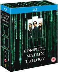 Matrix Trilogy (Blu-ray) - Cover