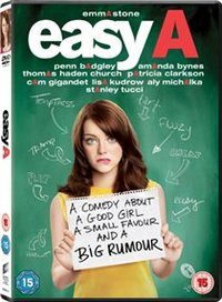 Easy A (DVD) - Cover