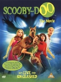 Scooby-Doo - the Movie (DVD) - Cover