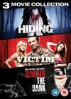 Hiding/The Victim/Beneath the Dark (DVD)