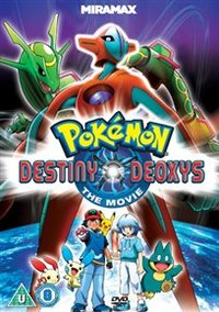 Pokémon: Destiny Deoxys (DVD) - Cover