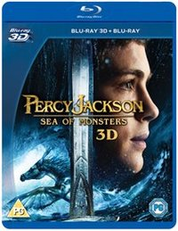 Percy Jackson: Sea of Monsters (Blu-ray) - Cover