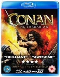 Conan the Barbarian (Blu-ray) - Cover