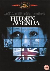 Hidden Agenda (DVD) - Cover