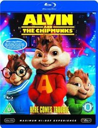 Alvin and the Chipmunks (Blu-ray) - Cover