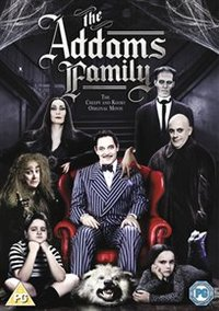 Addams Family (DVD) - Cover