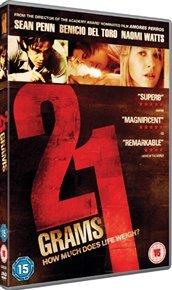21 Grams (DVD) - Cover