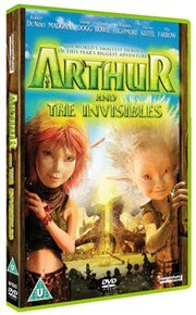 Arthur and the Invisibles (DVD) - Cover