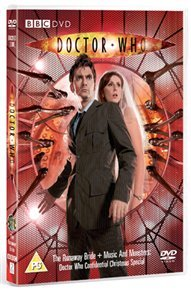 Doctor Who - The New Series: The Runaway Bride Christmas Special (DVD) - Cover