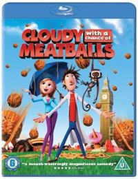 Cloudy With a Chance of Meatballs (Blu-ray) - Cover
