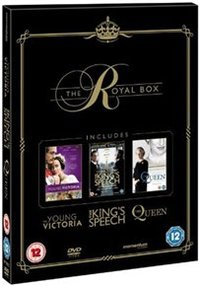 King's Speech/The Queen/The Young Victoria (DVD) - Cover