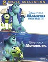 Monsters, Inc./Monsters University (Blu-ray) Cover