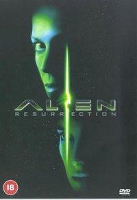 Alien Resurrection (DVD) - Cover