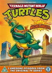Teenage Mutant Ninja Turtles: Best of Michelangelo (DVD) - Cover