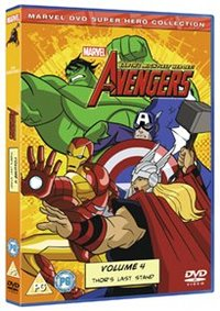 Avengers - Earth's Mightiest Heroes: Volume 4 (DVD) - Cover